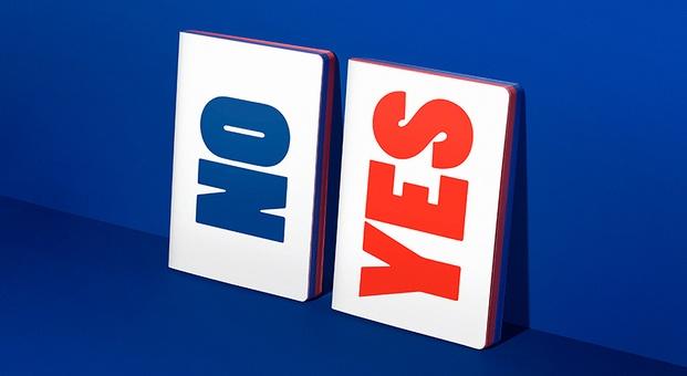 libretas YES y NO - diariodesign