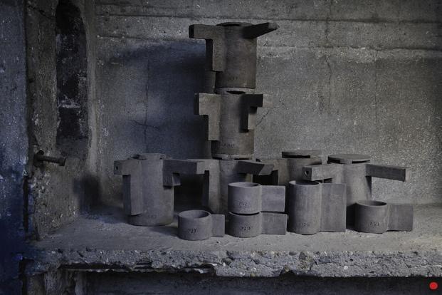 Serax tazas de microcemento - diariodesign
