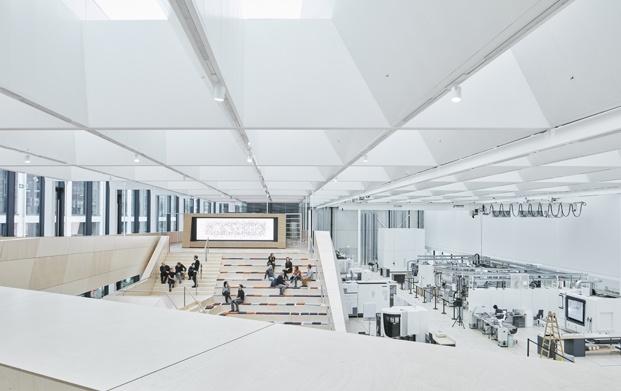 oficinas swarovski diseñadas por snohetta