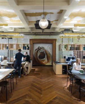 oficinas en Londres Squire and Partners diariodesign
