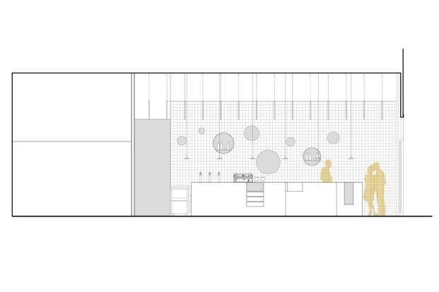 bloom cafe barakaldo garmendia cordero arquitectos diariodesign alzado interior