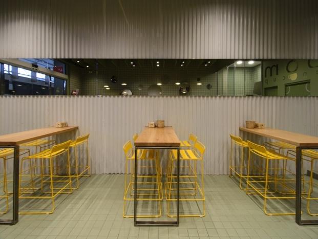 bloom cafe barakaldo garmendia cordero arquitectos diariodesign mesas