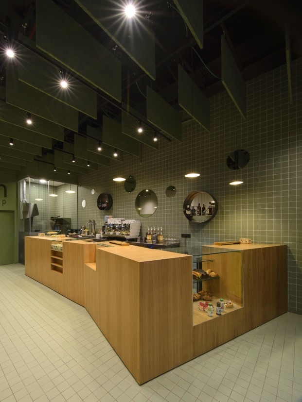 bloom cafe barakaldo garmendia cordero arquitectos diariodesign mueble central