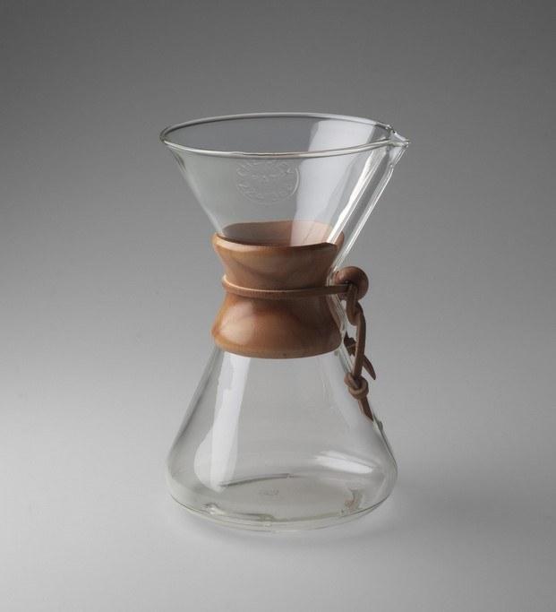cafetera chemex buen diseño moma diariodesign