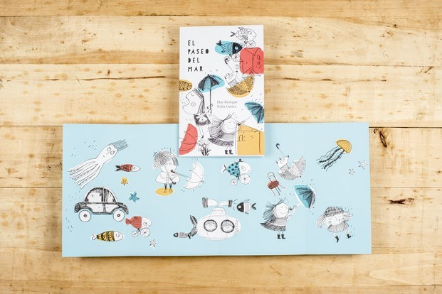 el paseo del mar acordeones ilustrados diariodesign
