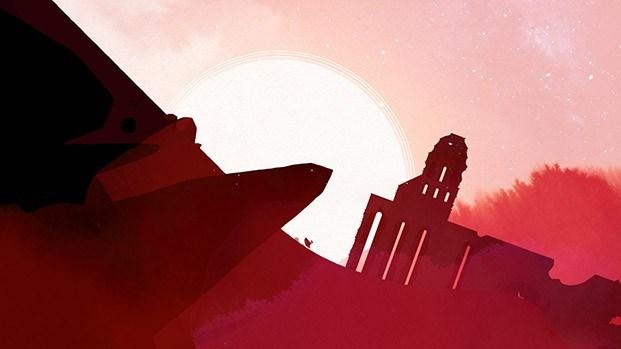 gris escena roja ruinas videojuegos y diseño diariodesign