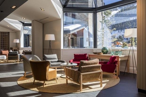 hotel park piolets grandvalira lobby diariodesign