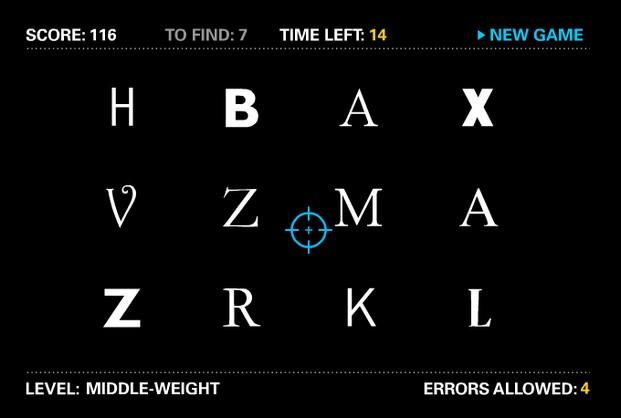 I shot the Serif videojuegos y diseño diariodesign