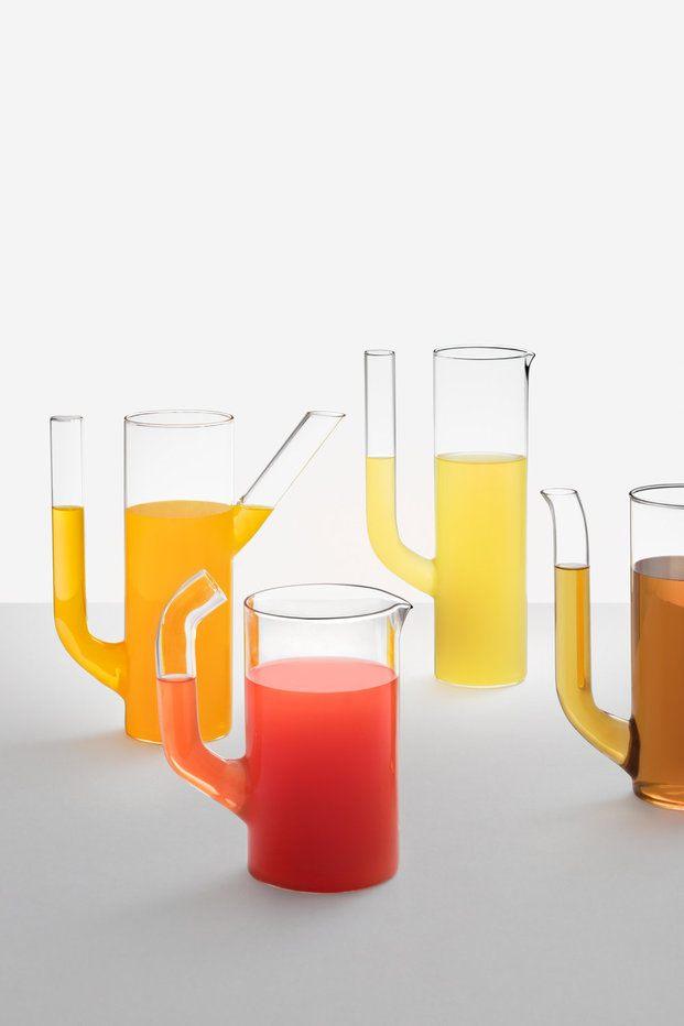 Jarras de cristal modernas - diariodesign