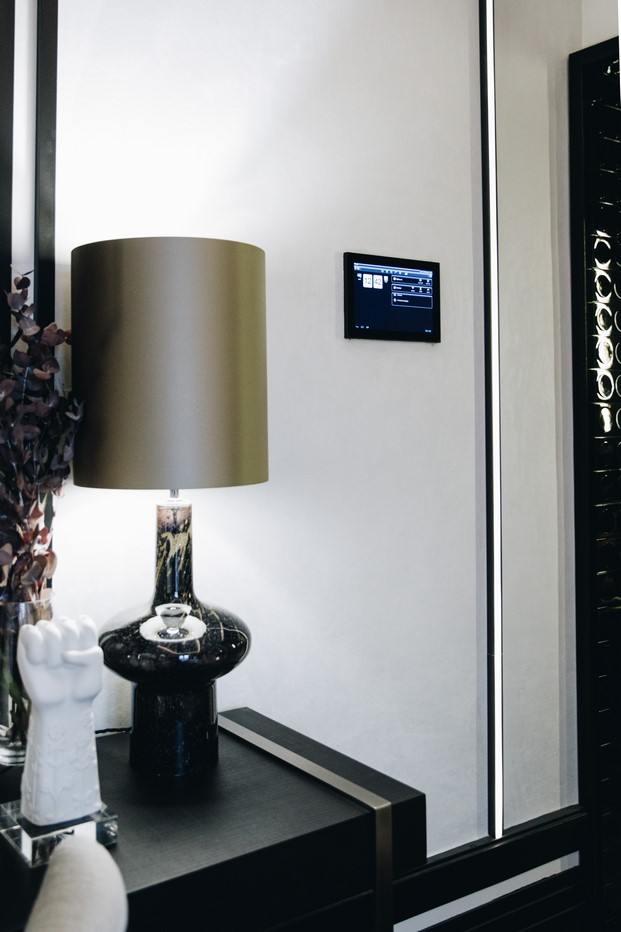 iluminación dormitorio hager en casa decor 2019 diariodesign