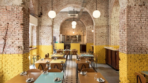 ladrillo berberè restaurante en milán diariodesign
