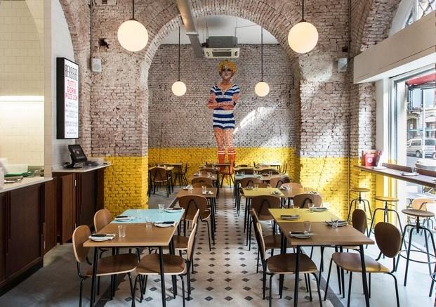 mural berberè restaurante en milán diariodesign