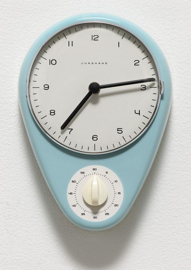 reloj de cocina max bill buen diseño moma diariodesign