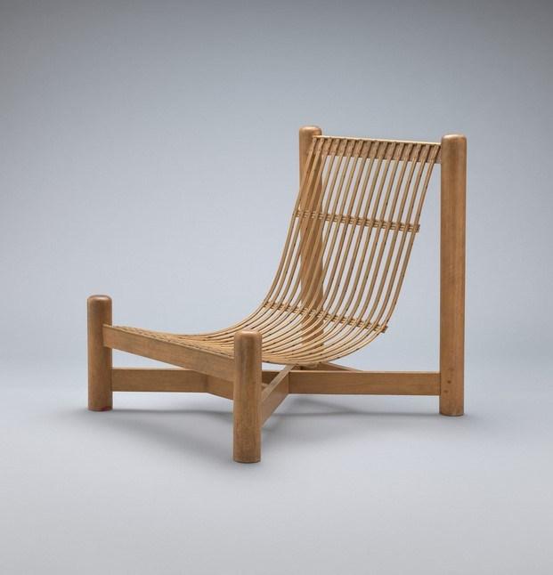 silla low charlotte perriand buen diseño moma diariodesign