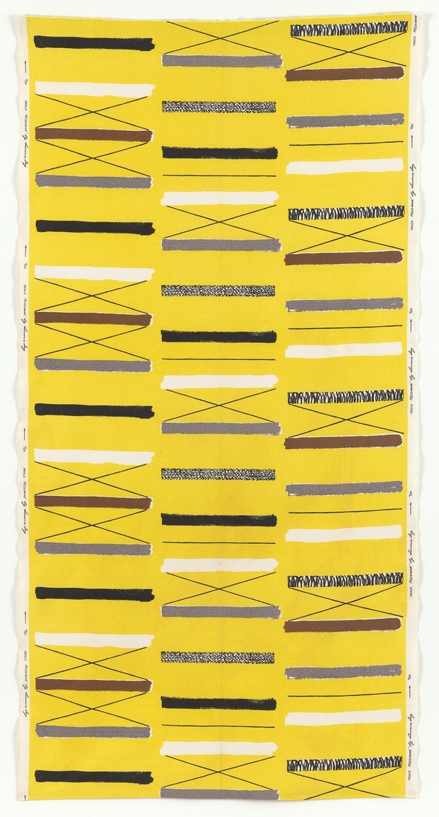 textil lucienne day buen diseño moma diariodesign