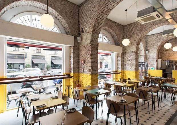 ventanal berberè restaurante en milán diariodesign