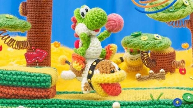 yoshi's woolly world videojuegos y diseño diariodesign
