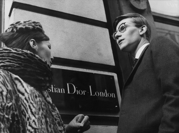 yves saint laurent en christian dior london diariodesign