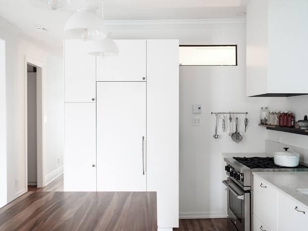 cocina hutchison flat apartamento en montreal diariodesign