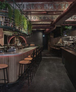 restaurante tropical jack rose de ivy studio diariodesign