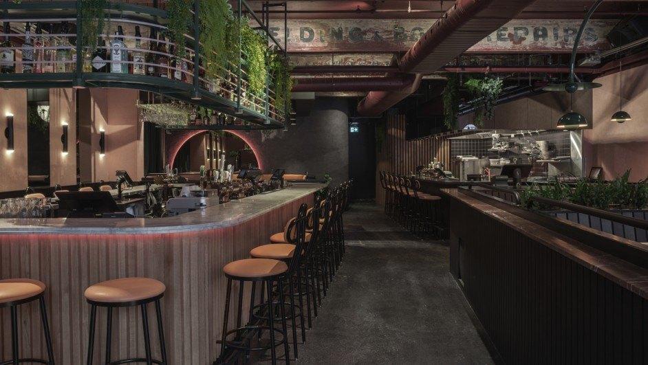 restaurante tropical jack rose de ivy studio diariodesign