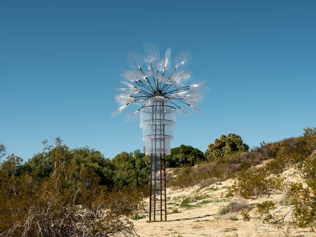 Kathleen Ryan en Desert X arte contemporáneo en Coachella diariodesign
