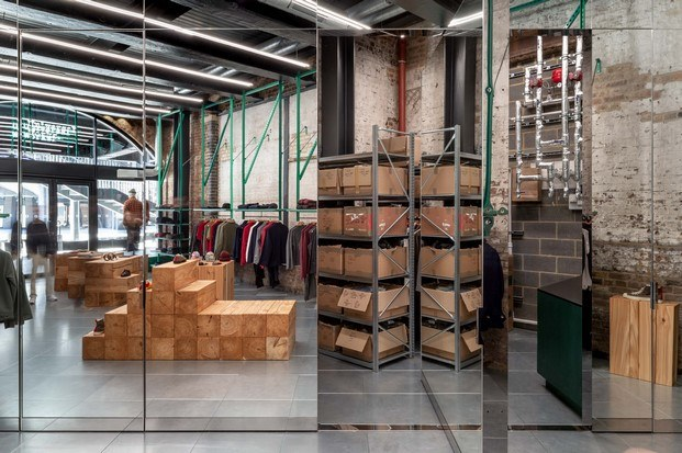 almacén espejos tienda de moda en londres universal works diariodesign