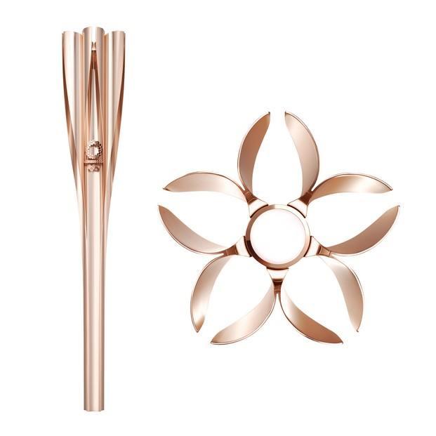 antorcha olímpica brilla el #FF diariodesign