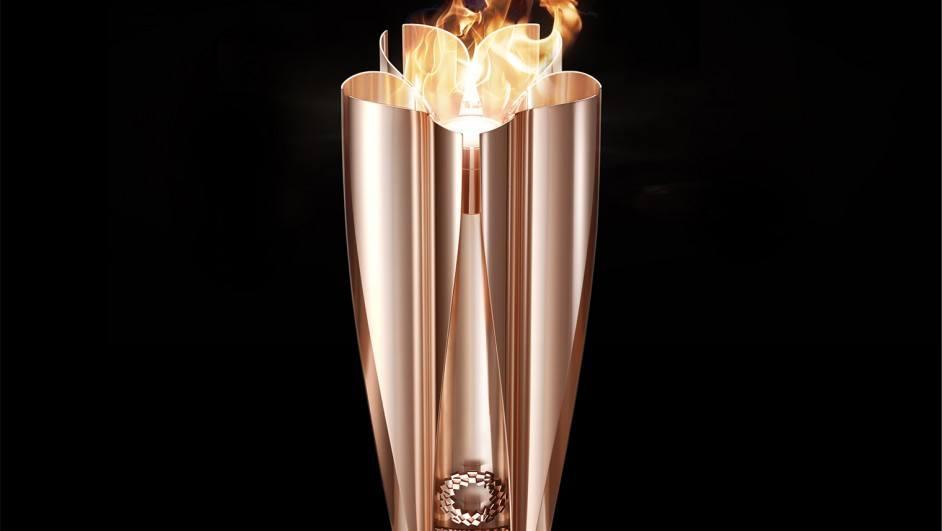 antorcha olímpica tokio 2020 diseño de tokujin yoshioka diariodesign