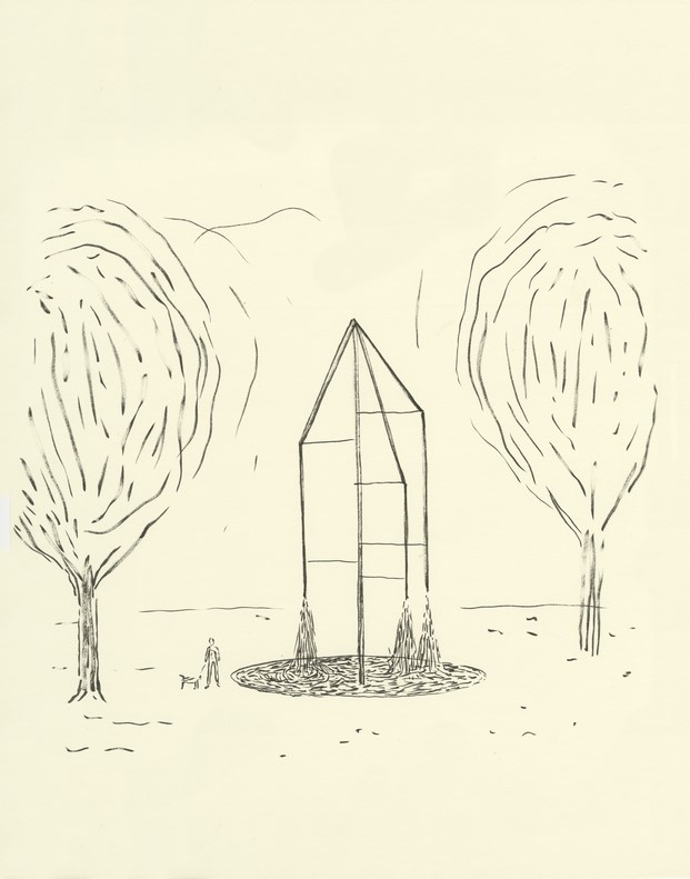 boceto fuentes campos elíseos parís bouroullec swarovski diariodesign