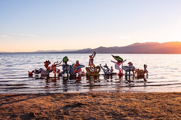Cecilia Bengolea arte contemporáneo lago selton coachella diariodesign