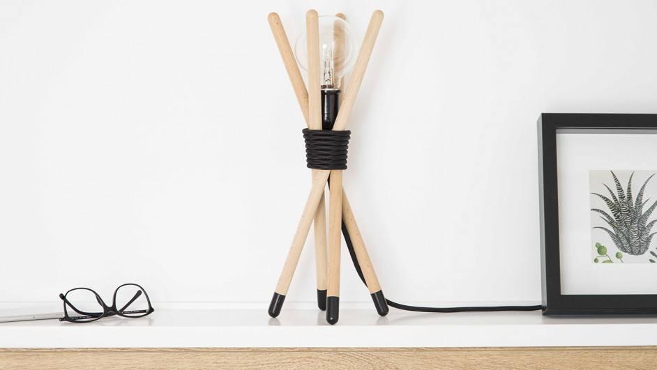 denoe lámpara de madera mybarrio diariodesign