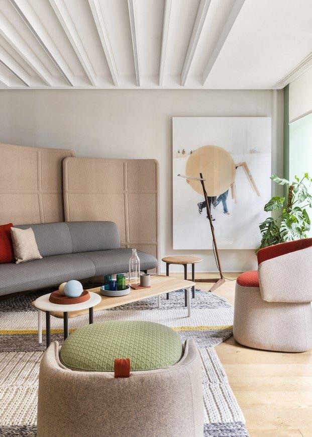 espacio haworth madrid diseñado por patricia urquiola diariodesign
