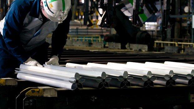 fabricación antorcha olímpica tokio 2020 aluminio extruido diariodesign