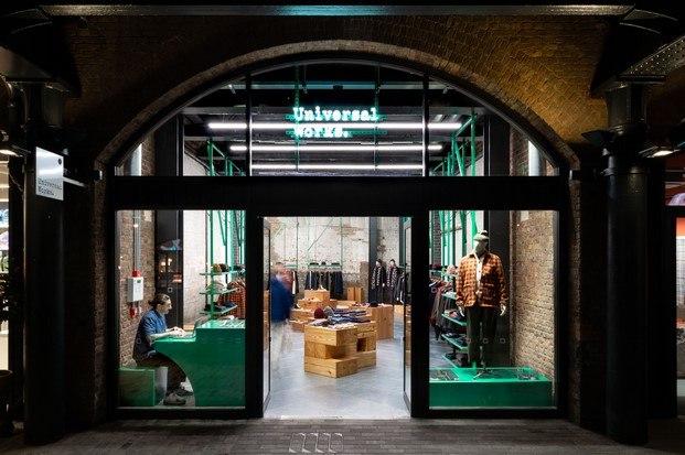 fachada universal works tienda de moda en londres studio mutt diariodesign