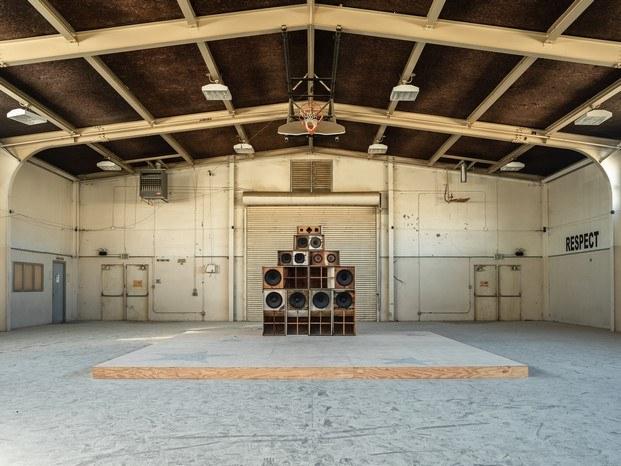 Gary Simmons arte contemporáneo Desert X en Coachella diariodesign