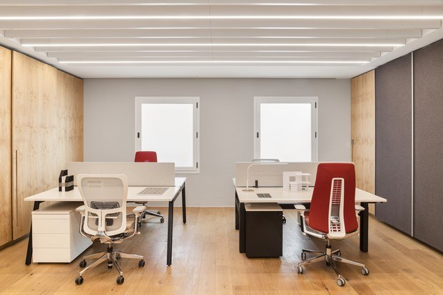 haworth mobiliario de oficinas en el showroom de madrid diariodesign