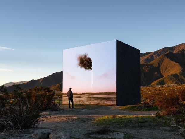 John Gerrard en Desert X arte contemporáneo Coachella diariodesign