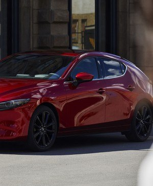 mazda3 rojo nuevo coche diariodesign