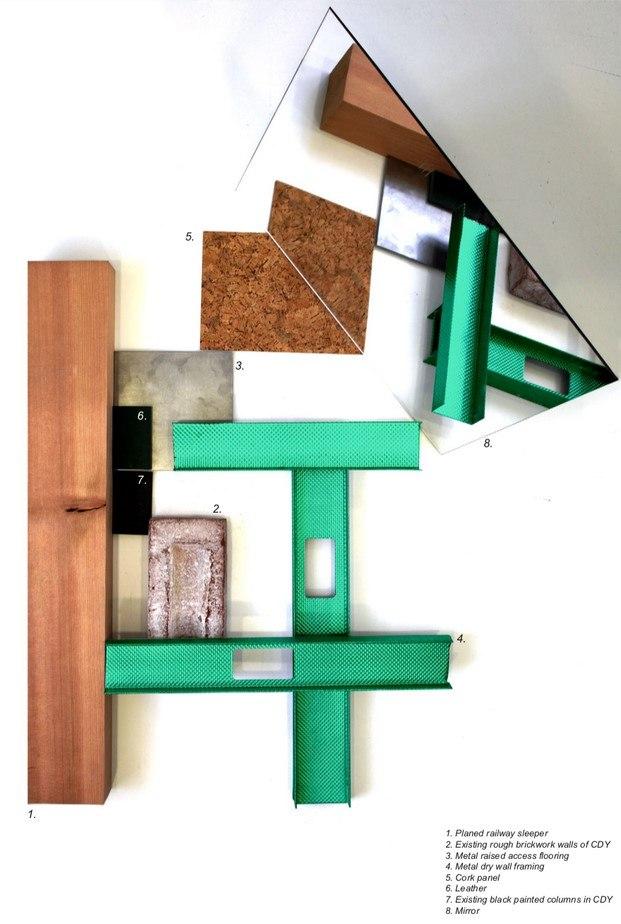 moodboard studio mutt para tienda de moda en londres universal works diariodesign