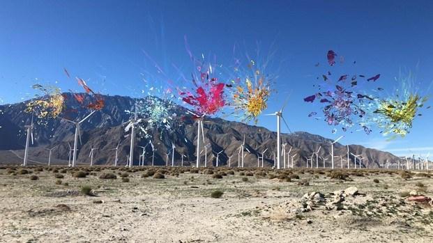 Nancy Baker Cahill en Desert X arte contemporáneo Coachella diariodesign