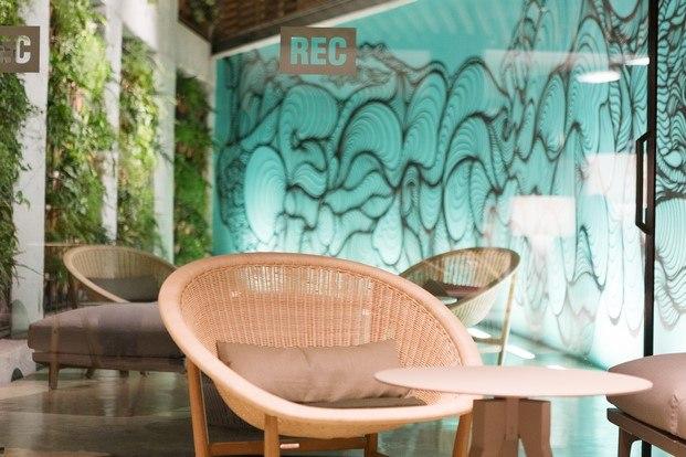 patio hotel de diseño rec barcelona diariodesign