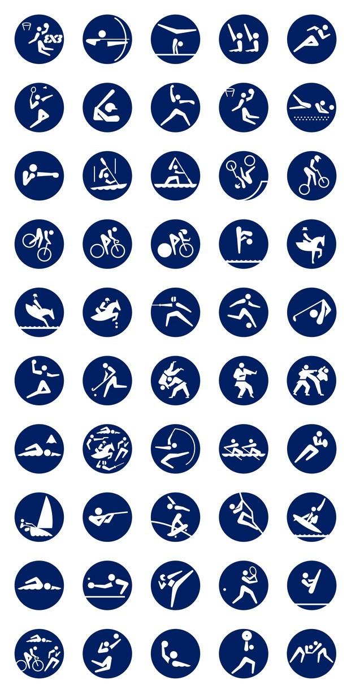 pictogramas olímpicos tokio 2020 diariodesign