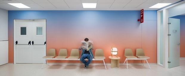 sala de espera hospital de oncología manresa rai pinto diariodesign
