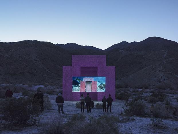 superflex cine al aire libre desert x diariodesign