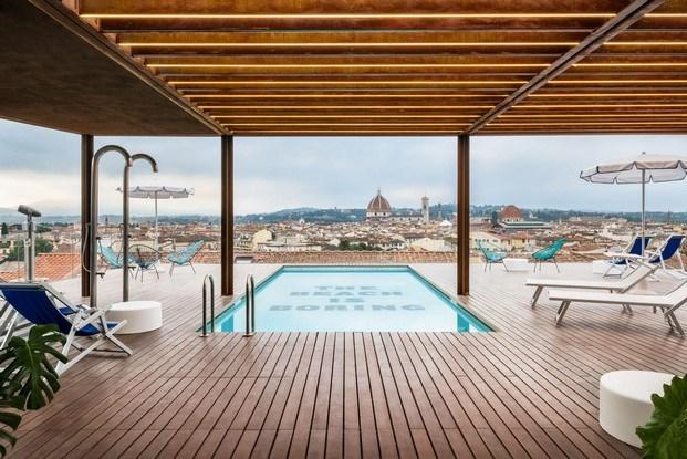 the student hotel florencia vistas piscina terraza diariodesign