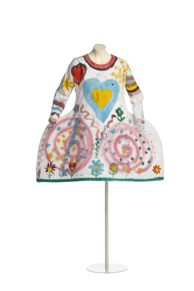 vestido de ágatha ruiz de la prada madrid design festival diariodesign