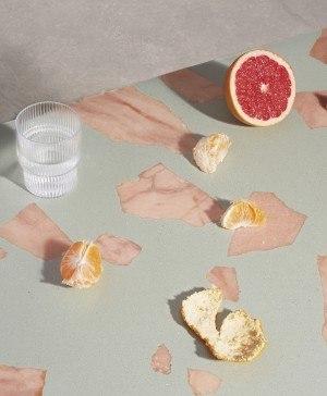 altrock robin grasby salon wallpaper handmade terrazzo milan