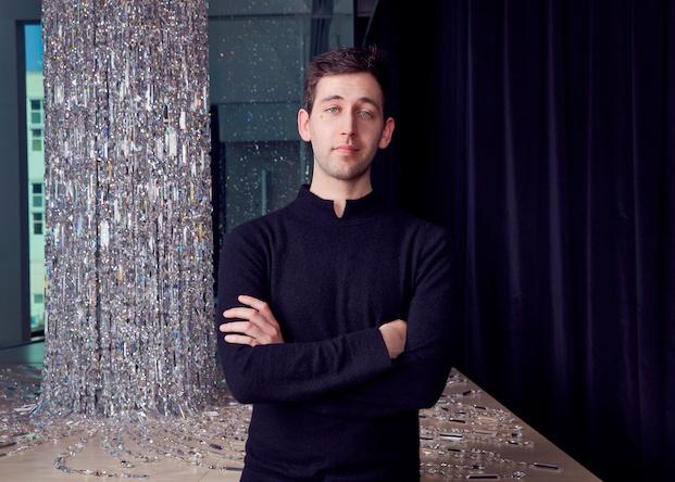Raffe Burrell, arquitecto de Londres. Swarovski Awards.