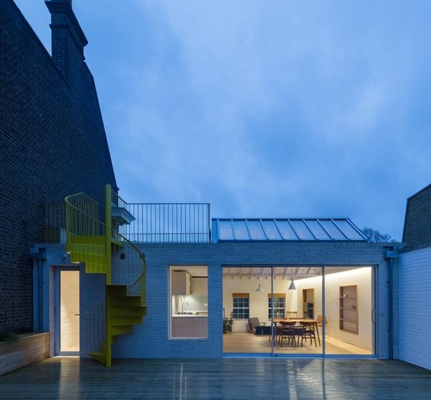 exterior ático en londres vine architecture studio diariodesign